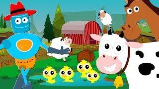 old macdonald had a farm | animal sounds song | nursery rhymes | baby songs