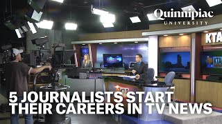 Small Markets, Big Dreams: 5 journalists start their careers in TV news (TRT 57:18)