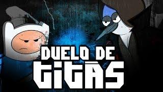 Zuando Youtubers #12- Finn VS. Mordecai (Duelo de Titãs)