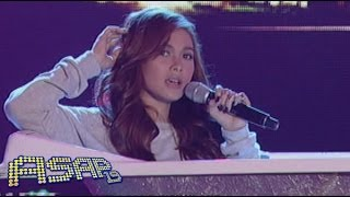 Maja Salvador sings first single 'Dahan-Dahan' on ASAP