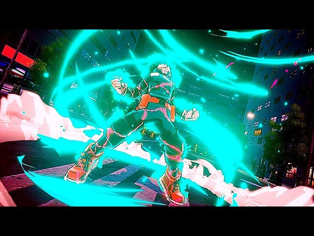 My Hero Academia: One's Justice - FIRST Gameplay Demo (PS4/Switch) 2018