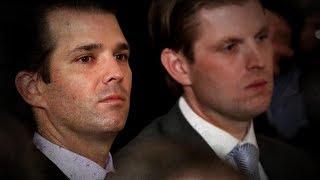 Donald Jr., Eric Trump take on their dad's critics