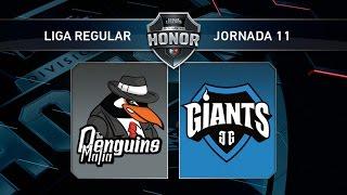The Penguins Mafia vs Giants Only The Brave - #LoLHonor11 - Mapa 1 - Jornada 11 - T11