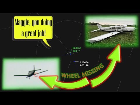 17 YEAR OLD STUDENT PILOT LANDS HER PLANE WITHOUT A WHEEL