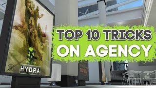 Top 10 Tricks on AGENCY ★ CS:GO [Operation HYDRA]