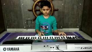 Baarish cover song Playing on Keyboard with Chords by Dhruv Gondaliya