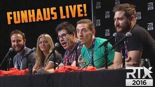 SOCIALLY AWKWARD...LIVE! - Funhaus Panel at RTX 2016
