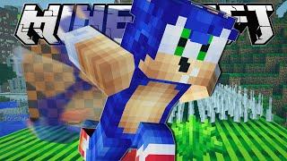 Minecraft | SUPER SPEEDY SONIC LEVEL | Death Run Minigame