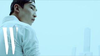 British-Korean Model Sang Woo Kim Shows His Artistic Side
