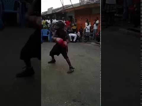 amatuer boxing talented kids street boxing