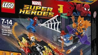 Spider-Man LEGO® 76058 Full Speed Build & Giveaway! Time Lapse Movie Review - Marvels Super Heroes