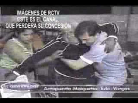 APAGANDO LOS EQUIPO RCTV.