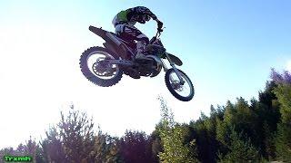 Kawasaki KX 250 Jumping & Sand Roosting