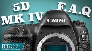 Canon EOS 5D Mark IV - FAQ Video