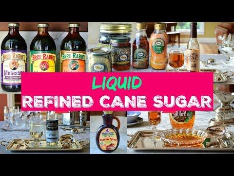 Refined Cane Sugar in Liquid Form