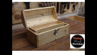 Toolbox from a Single 2X4!!
