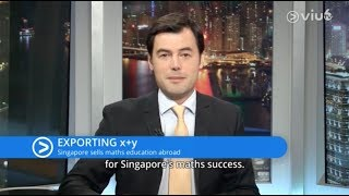 Exporting x+y Singapore Sells Maths Education Abroad