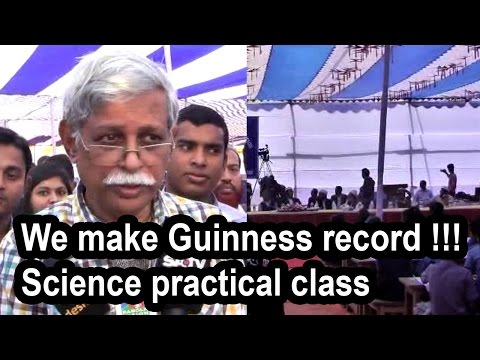 Bangladesh set to make Guinness record !!! science practical class