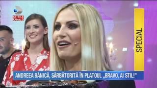 Stirile Kanal D (21.06.2017) - Andreea Banica, sarbatorita in platoul
