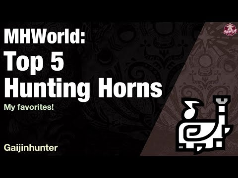 Xxx Mp4 Monster Hunter World Top 5 Hunting Horns 3gp Sex