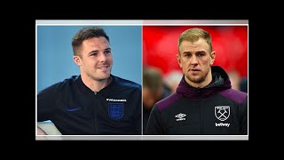 Jack Butland: What I texted Joe Hart after I beat him to a spot in the England squad
