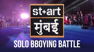 St+Art Mumbai | Solo BBoying Top 8 - 4th Battle