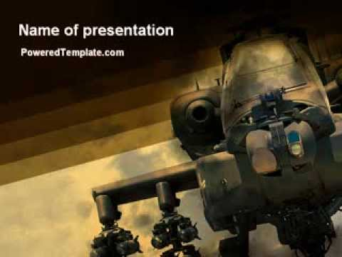 Army powerpoint slide templates military helicopter powerpoint template by poweredtemplate toneelgroepblik Choice Image