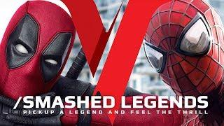 Deadpool VS SpiderMan - SMASHED LEGENDS ✔