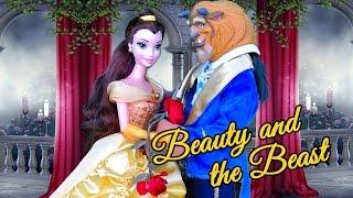 BEAUTY & THE BEAST ! Toys and Dolls Fun with Family & Kid-Friendly Fairytale Disney Princess