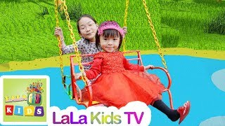 Yes Yes Playground Song | Baby Nursery Rhymes & Kids Songs - LaLa Kids TV