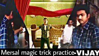 Mersal magic tricks-vijay practice  the magic tricks