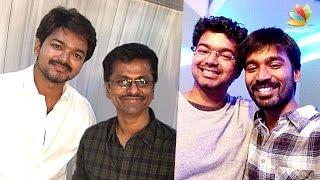 Dhanush to produce Vijay - AR Murugadoss film | Latest Tamil Cinema News