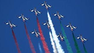 Frecce Tricolori RIAT 2018 Italian Air Force The Royal International Air Tattoo
