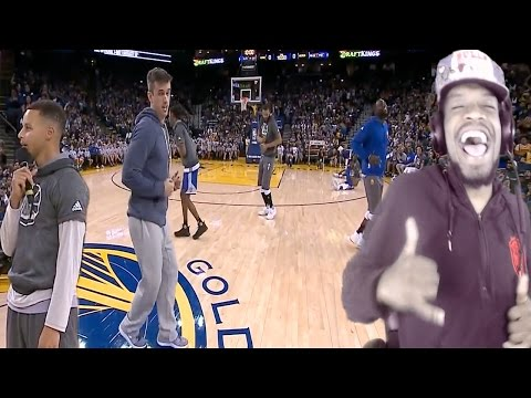 LOL CURRY JUJU ON THE BEAT! WARRIORS TALENT SHOW REACTION