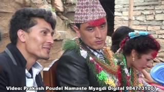 Wedding of Narayan Baniya at Myagdi Nepal