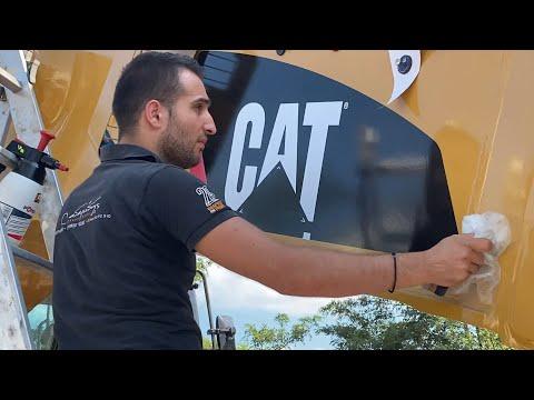 Restoration Of Caterpillar 385C Excavator Sotiriadis Labrianidis Mining