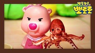 [요리왕 루피] 문어&새우 초밥 만들기 | 뽀로로 장난감 | 미니어처 장난감 | 클레이 아트