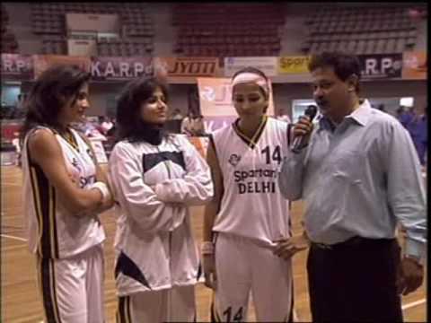 Indian Basketball; delhi stars ,Singh Sisters.........Senior National Surat2009