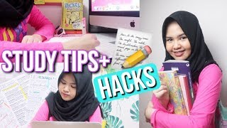 MAKE YOUR STUDY MORE EASY! ♡ 5 STUDY TIPS 2K17 - Indonesia