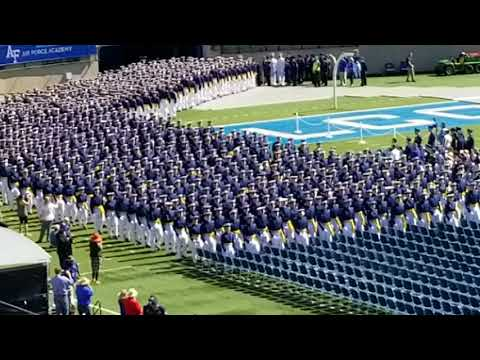 2018 USAFA Graduation March On