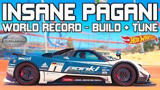Forza Horizon 3 - EPIC 1200hp Pagani Zonda WORLD RECORD - BUILD and TUNE!!