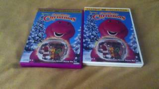 2 Different Copies Of Barney's Night Before Christmas