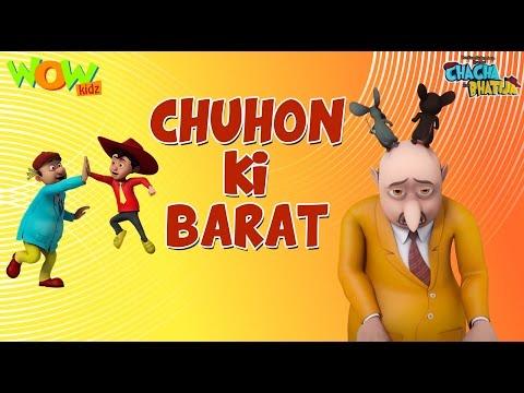 Xxx Mp4 Chuhon Ki Baraat Chacha Bhatija 3D Animation Cartoon For Kids As Seen On Hungama TV 3gp Sex