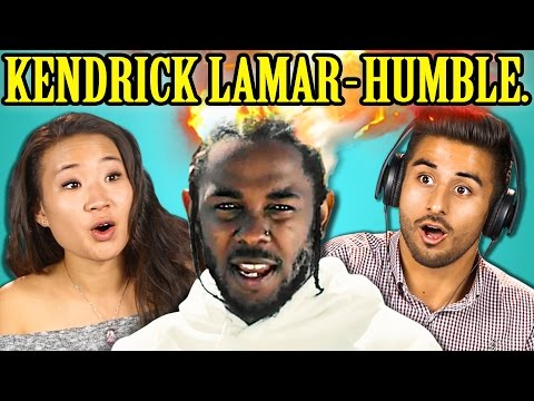 COLLEGE KIDS REACT TO KENDRICK LAMAR - HUMBLE.