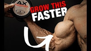 How to Get Bigger Biceps (LIGHT WEIGHTS!!)