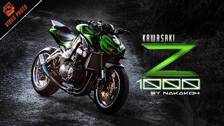 Kawasaki Z1000 อสุรกายเขียวสายเขียว กับความเปรี้ยวซ่าสมฉายา King of Naked Bike by NaKaKoh