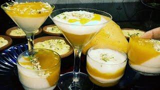 Khoob Tareef Paenge, jab ye Aam ki khoobsurat firni bnaenge   Mango phirni recipe