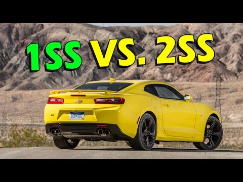 Camaro 1SS vs. 2SS - What is the Difference Between a 2016/2017?