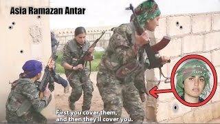 THE BEAUTIFUL KURDISH FEMALE WARRIOR KILLED BY ISIS - ASIA RAMAZAN ANTAR