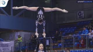 REPLAY: 2017 ACRO Europeans - Seniors finals WG & MG balance, MxP dynamic
